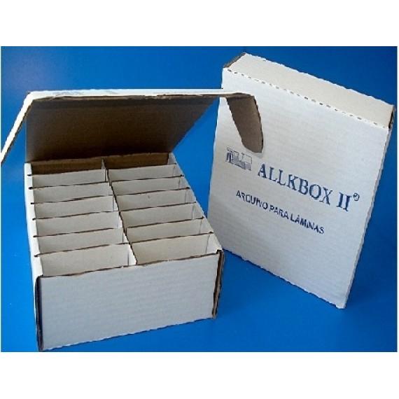 ARQUIVO DE PAPELÃO PARA 1.000 LÂMINAS - ALLKBOX II  CX C/  50 UNIDADES