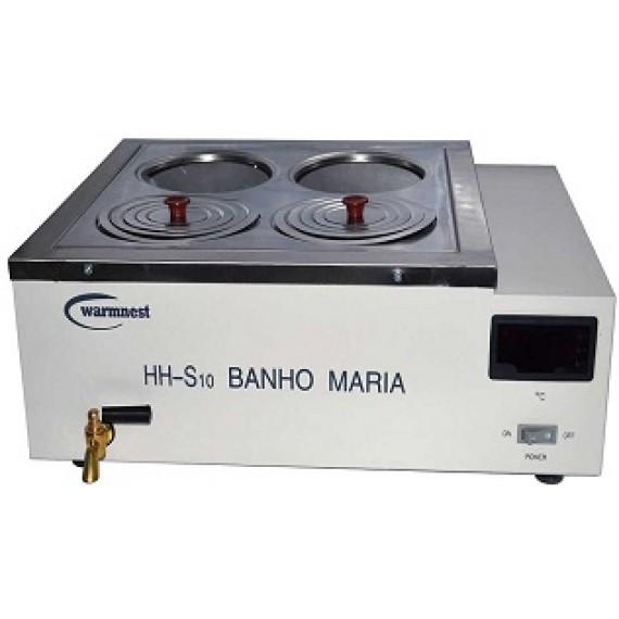 BANHO MARIA - 4 BOCAS DIGITAL - WARMS 4