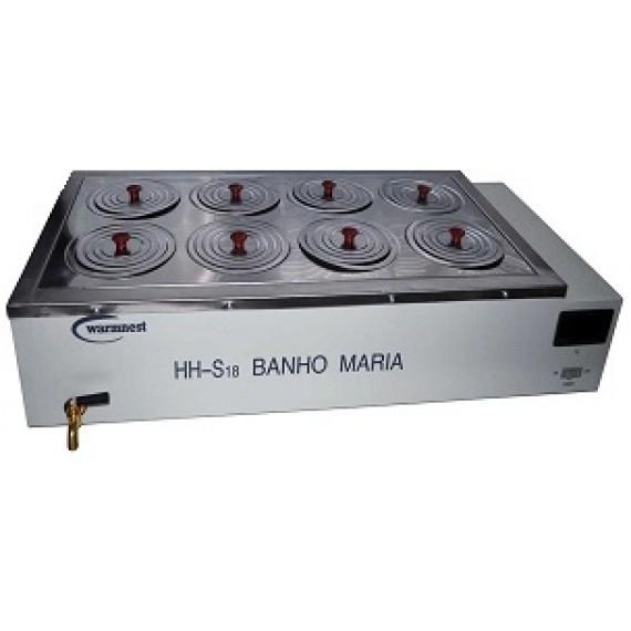 BANHO MARIA - 8 BOCAS DIGITAL - WARMS 8